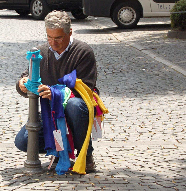 """Stricken: urban knitting: """"Das funktioniert mit jedem Garn!"""" - Bild 3"""