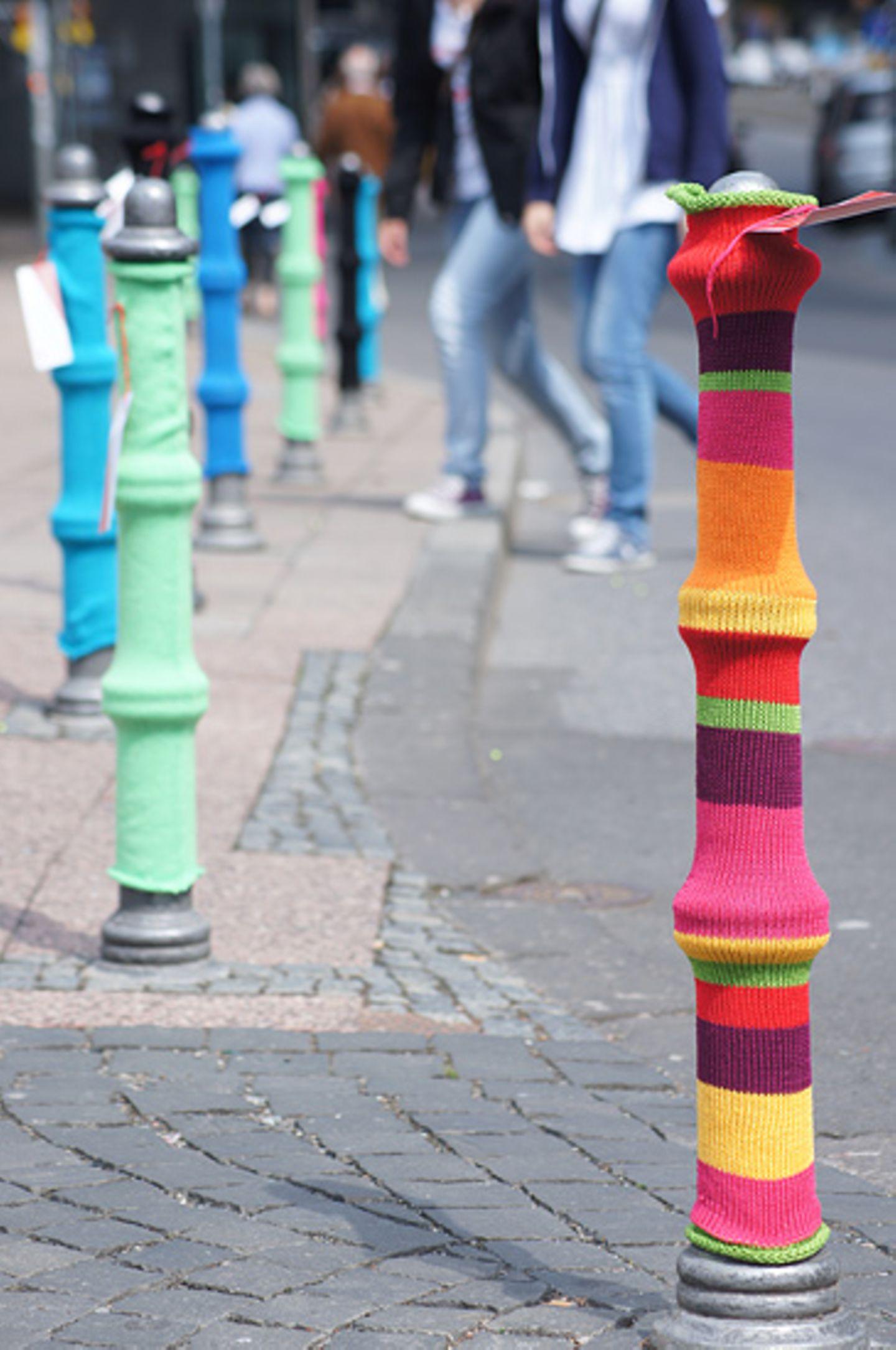 """Stricken: urban knitting: """"Das funktioniert mit jedem Garn!"""" - Bild 4"""