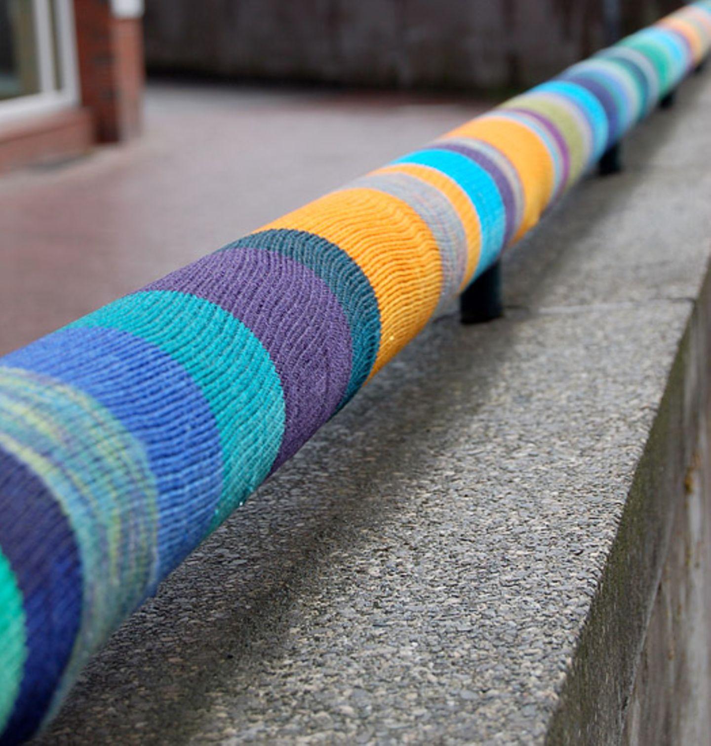 """Stricken: urban knitting: """"Das funktioniert mit jedem Garn!"""" - Bild 5"""