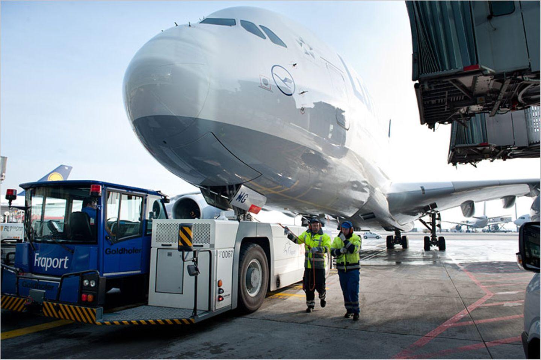 Flughafen: Am Boden geblieben