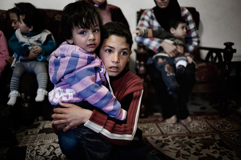 Syrien: Kinder im Bürgerkrieg