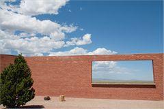 Meteor Crater from Visitor Center, östlich von Flagstaff, Arizona
