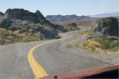 Goldroad von Ed's Camp nach Oatman, Arizona
