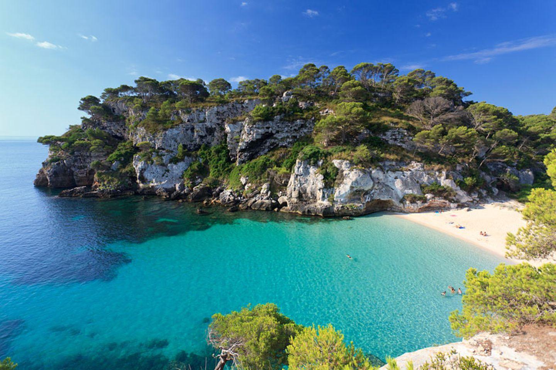 Cala Macarelleta, Menorca