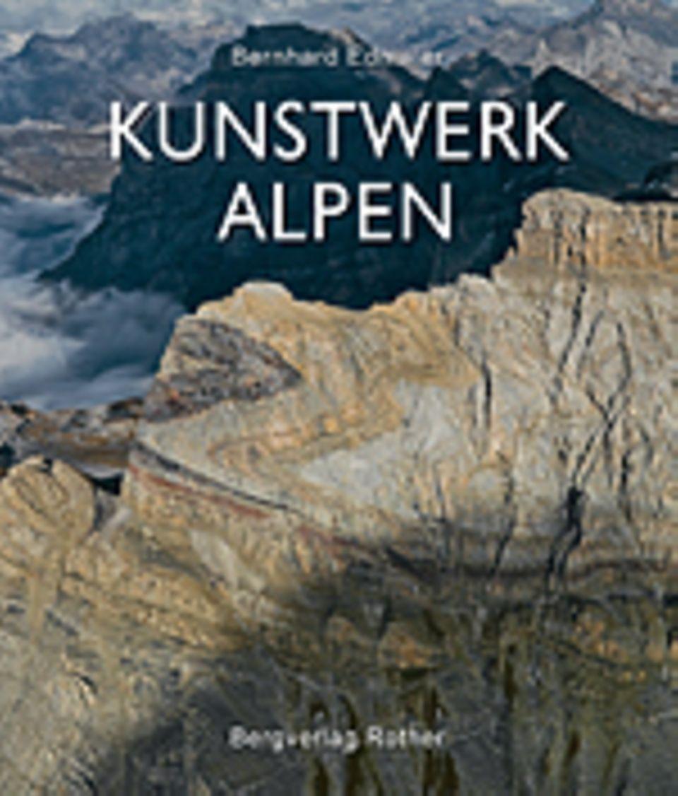 Fotogalerie: Kunstwerk Alpen, 224 Seiten, 2012, Text in Deutsch, 49,90 Euro, erschienen im Bergverlag Rother München
