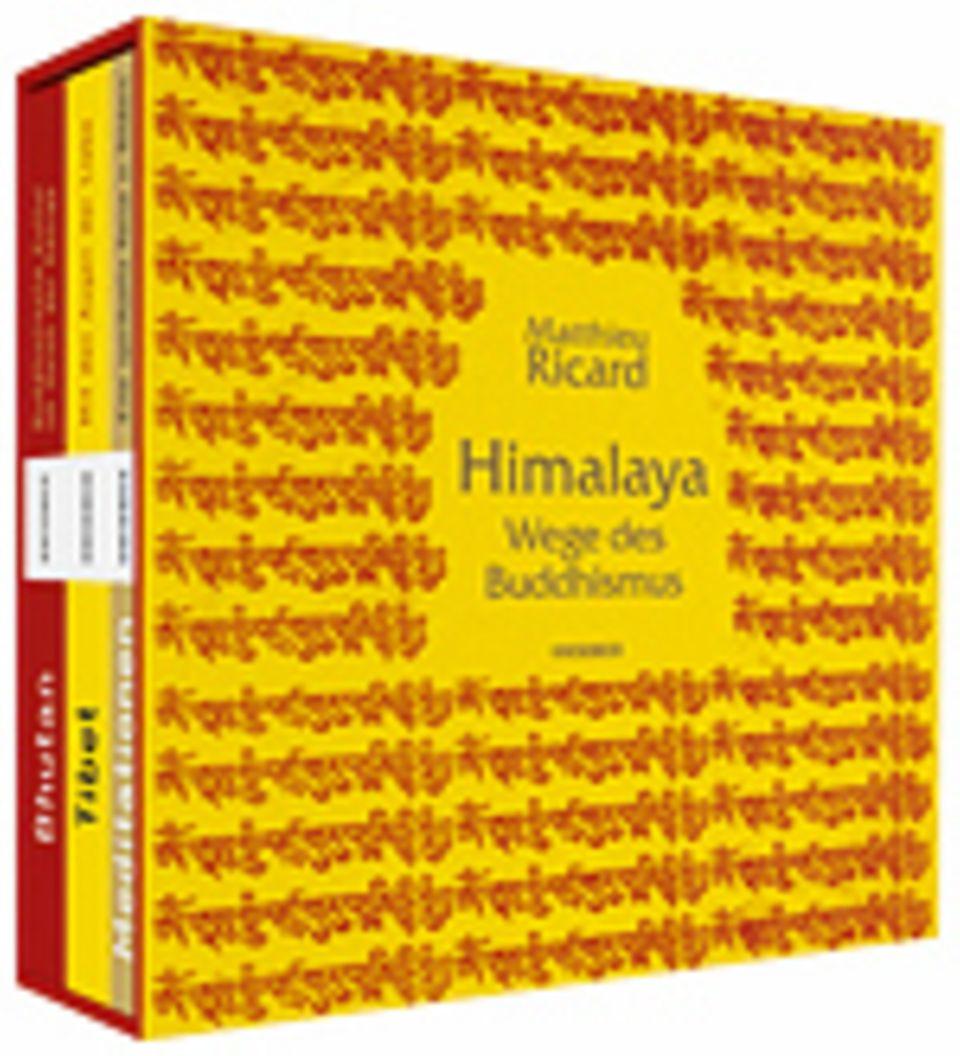 Himalaya - Wege des Buddhismus, 590 Seiten, 2012, Text in Deutsch, 39,95 Euro, erschienen im Knesebeck Verlag