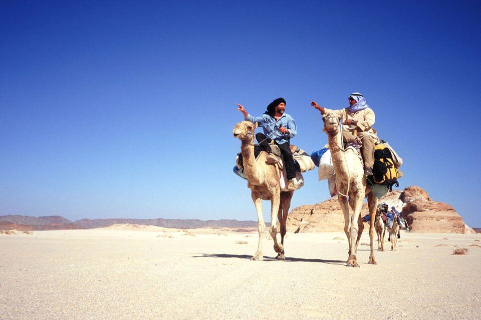 Fotogalerie: Die Wüsten zu Fuß