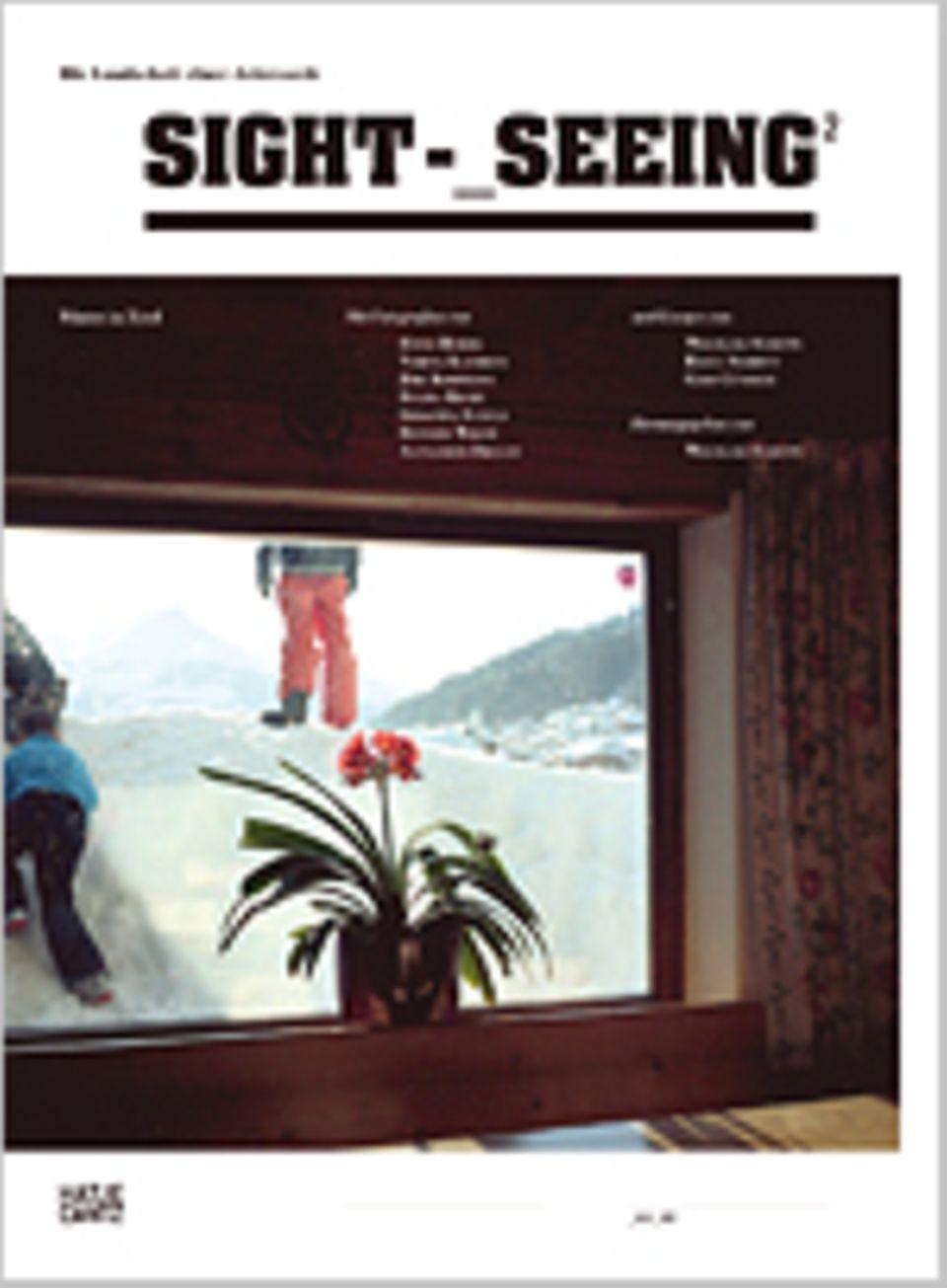 Sight-Seeing 2 – Winter in Tirol, 192 Seiten, 188 Bilder in Farbe, Texte auf Deutsch, erschienen bei Hatje Cantz