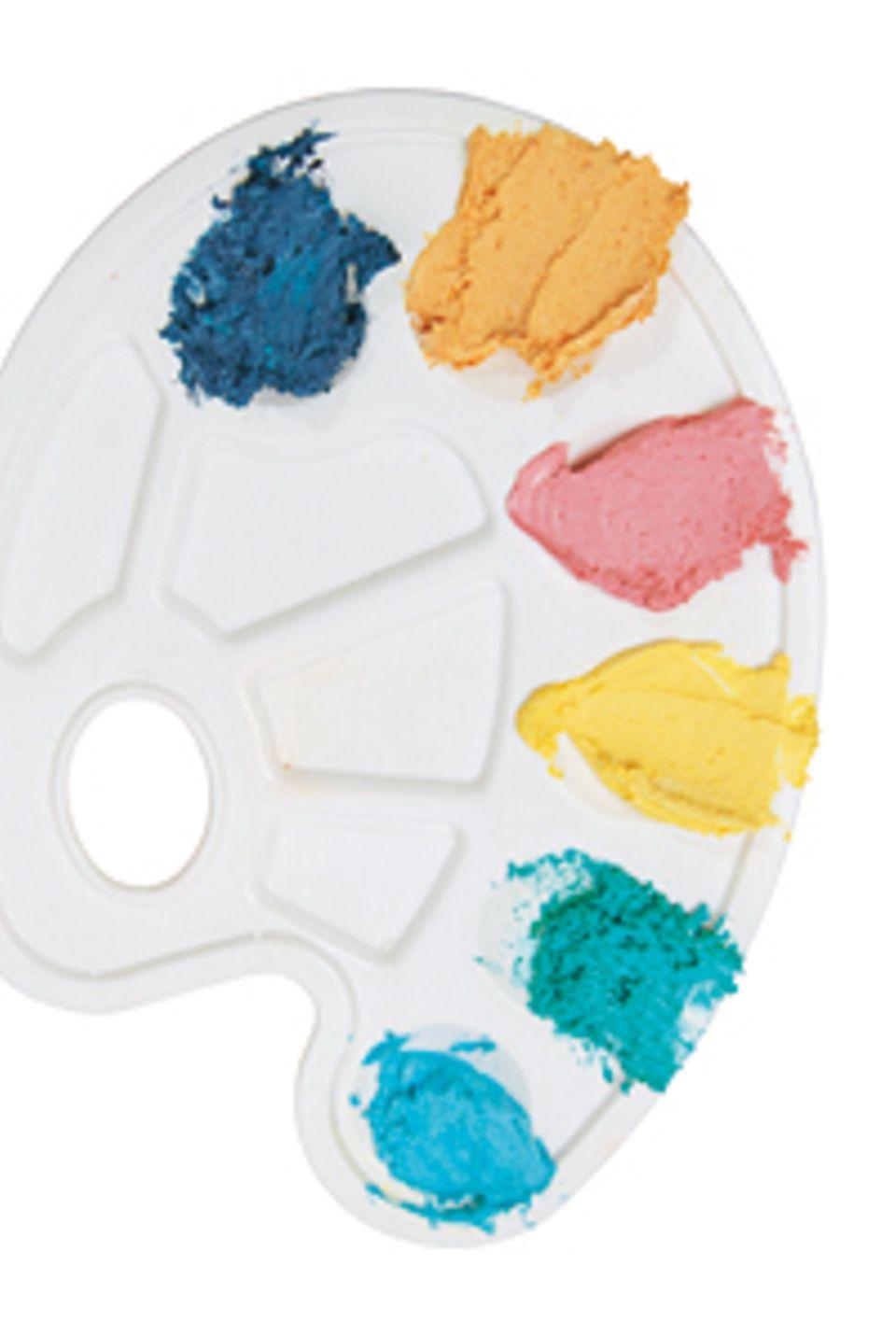 Bastelanleitung: Schminkfarbe und Knete selbermachen