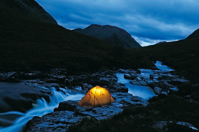 Camping in Schottland