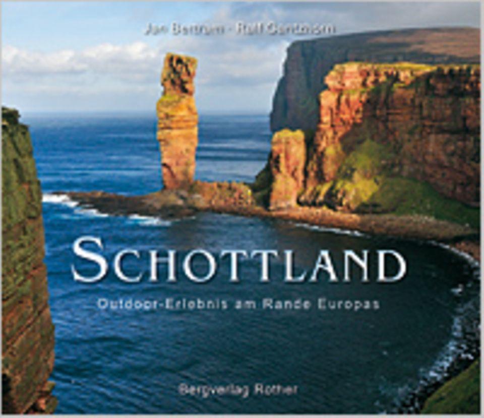 Fotogalerie: Schottland - Outdoor-Erlebnis am Rande Europas, 224 Seiten, 250 Bilder in Farbe, Texte auf Deutsch, erschienen bei Rother Verlag