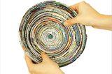 Basteln: Basteltipp: Schalen aus Altpapier - Bild 7