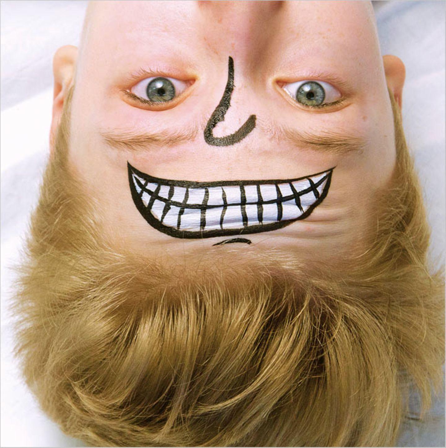 Schminken: Schminktipp: Gesichter im Gesicht