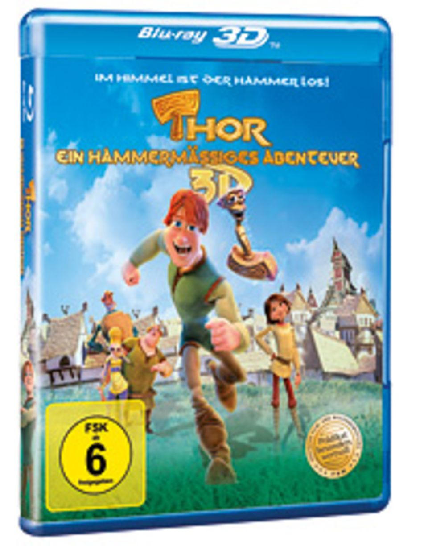 """DVD-Tipp: Ab dem 25. Oktober ist """"Thor - ein hammermäßiges Abenteuer"""" auf DVD, BLU-RAY und 3D BLU-RAY erhältlich"""