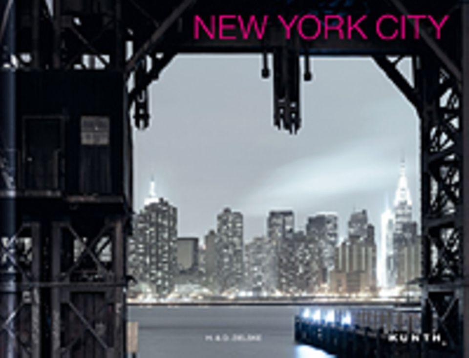 Fotogalerie: New York City, 112 Seiten, 57 Bilder in Farbe, Texte auf Deutsch und Englisch, erschienen bei Kunth
