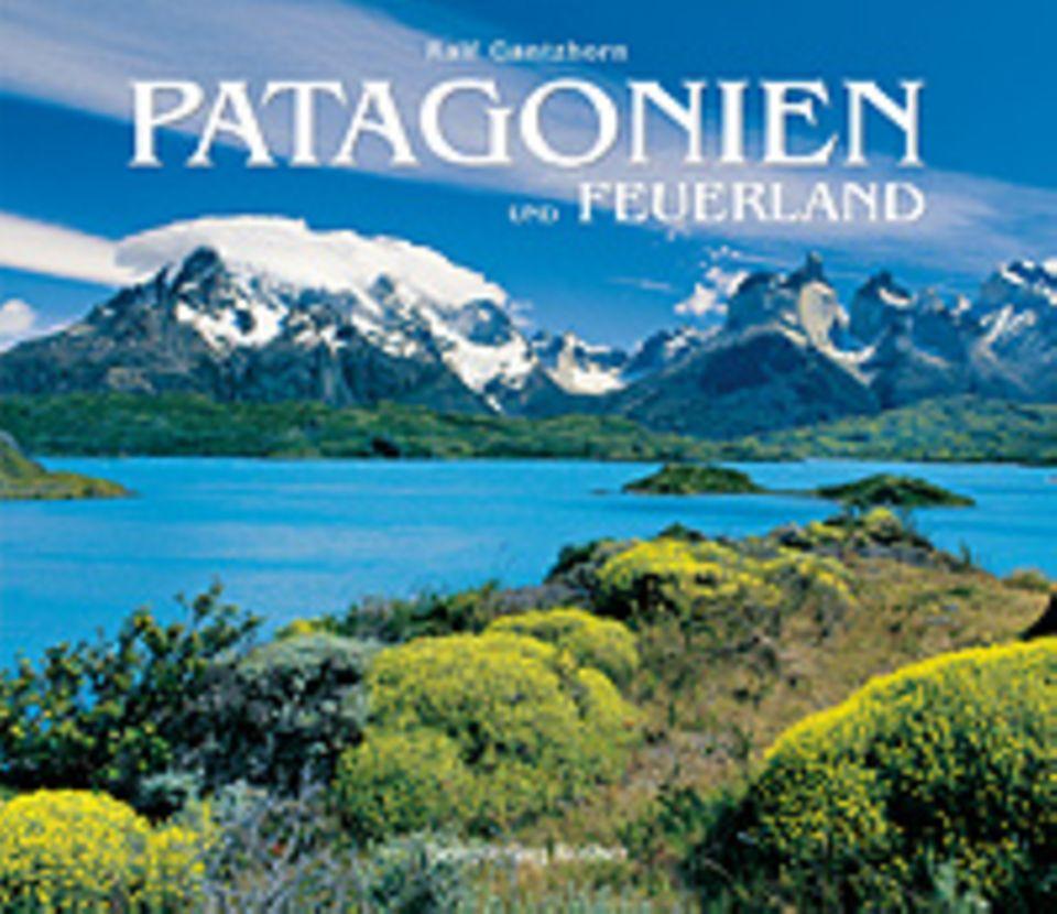 Fotogalerie: Patagonien und Feuerland, 264 Seiten, Texte auf Deutsch, erschienen bei Bergverlag Rother