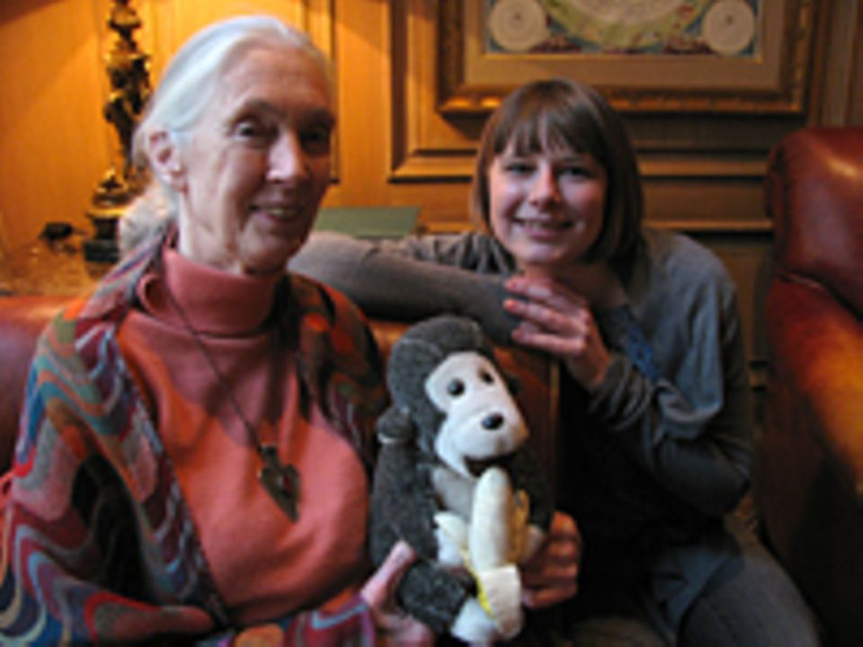 INTERVIEW: GEO.de-Redakteurin Anna Sandner traf die wissenschaftliche Beraterin des Filmteams und bekannte Verhaltensforscherin Jane Goodall in Berlin zum Interview