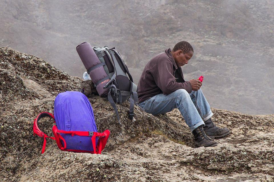 Fotogalerie: Hoch hinaus in Afrika