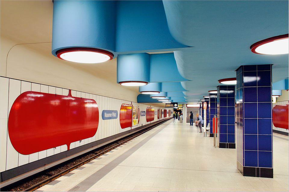 Fotogalerie: Augen auf in der U-Bahn!