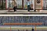 Bushaltestellen-Vergleich