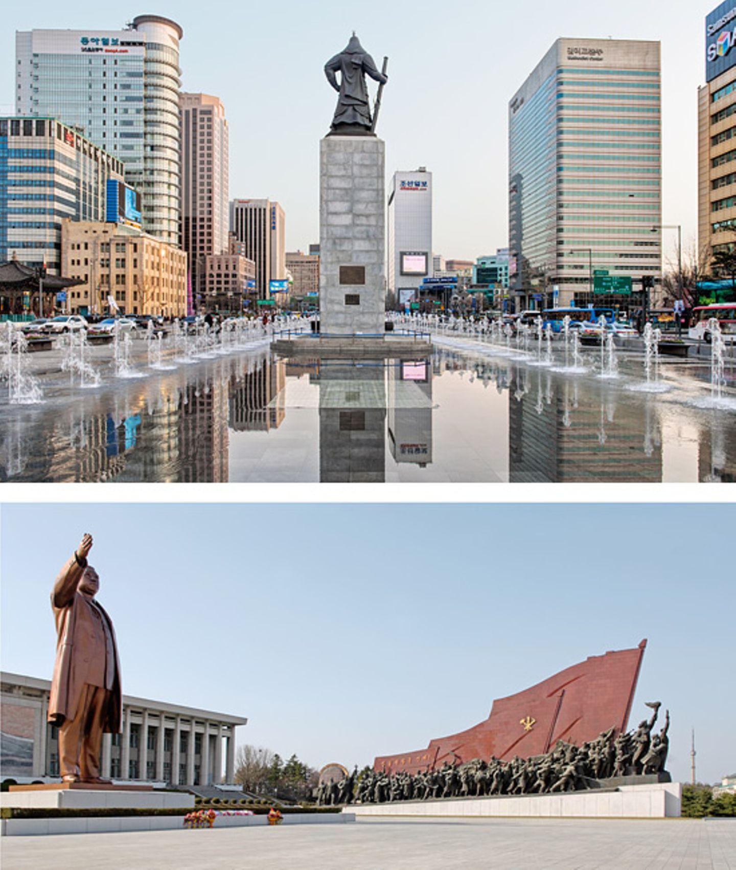 Statuen-Vergleich