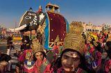 Delhi: Parade am Tag der Republik