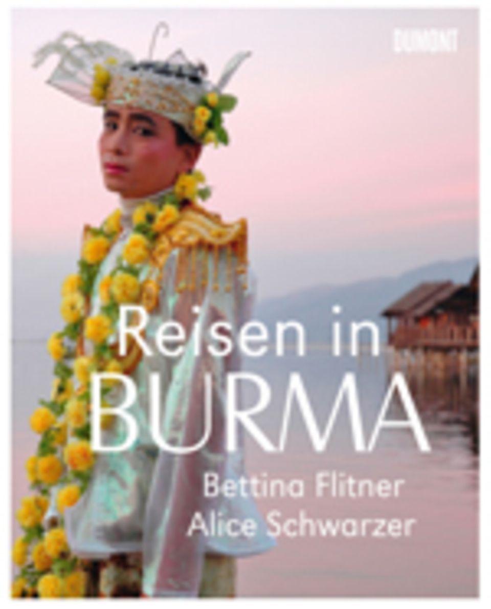 Fotogalerie: Reisen in Burma, 160 Seiten, 100 Bilder in Farbe, Text in Deutsch, erschienen bei Dumont Buchverlag