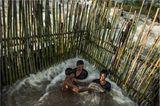 Fotogalerie: Traditionelle Mekong-Fischerei vor dem Aus - Bild 9
