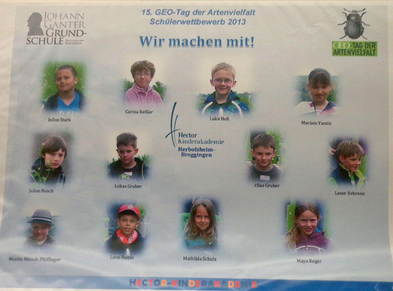 Der GEO-Schülerwettbewerb 2013