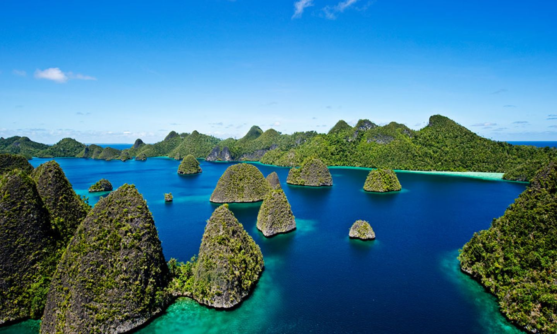 Inselgruppe Wayag