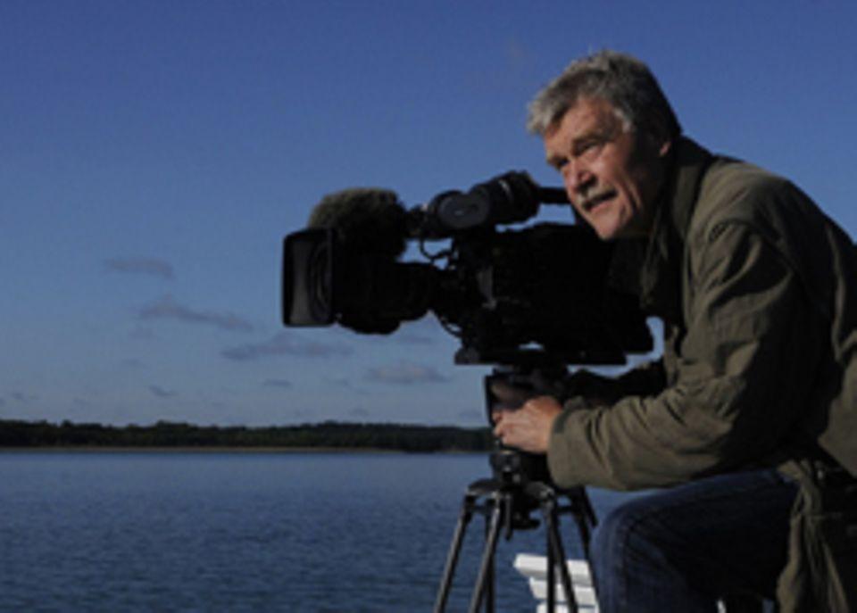 Tierdoku: Der Tierfilmer bei der Arbeit - hier an den Feldberger Seen