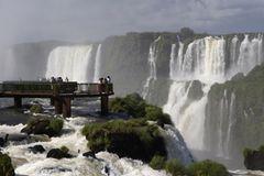 Iguazú Falls, Brasilien/Argentinien