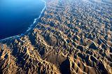Wüste von oben