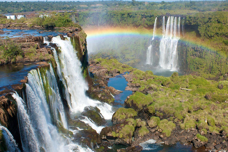 Brasilien/Argentinien: Iguazu Wasserfälle