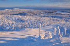 Schneesicher: Kuusamo und Ruka in Finnland