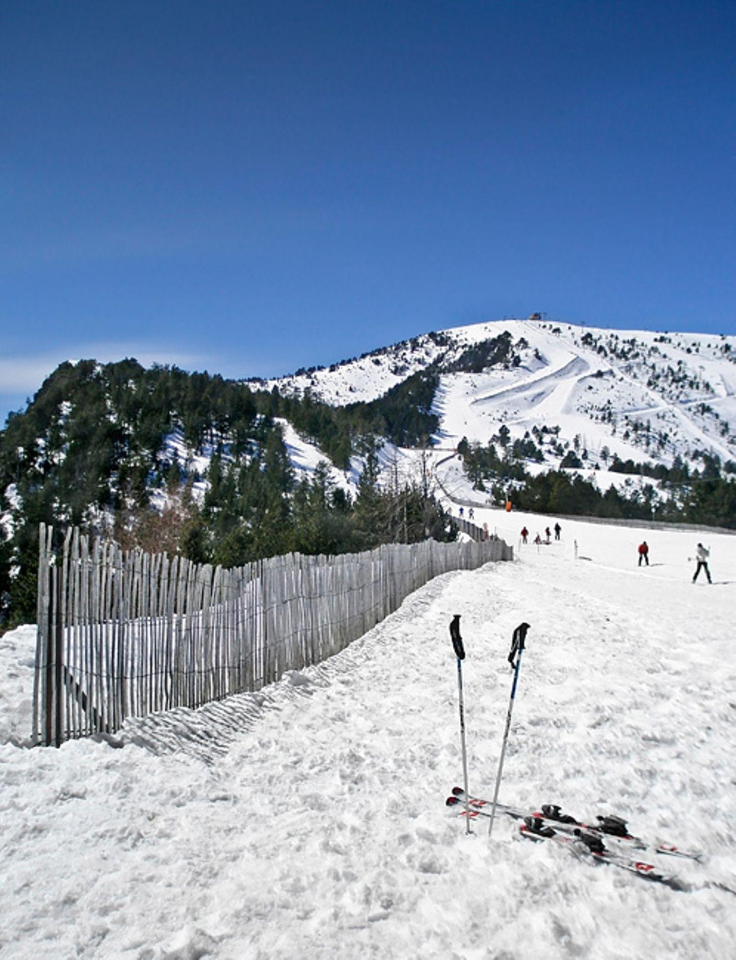 Schneesicher: Vallnord in den Pyrenäen in Andorra