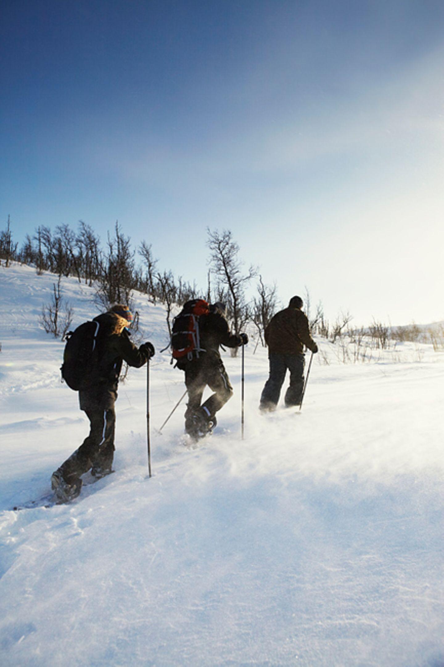 Schneesicher: Geilo in Norwegen