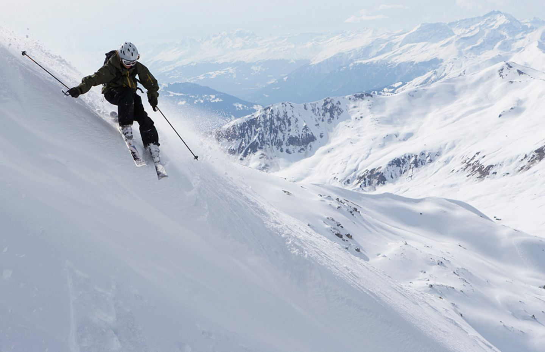 Schneesicher: Parsenn in Davos Klosters in der Schweiz