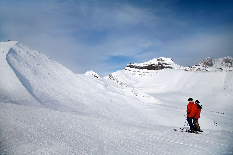 Schneesicher: Lake Louise in Kanada