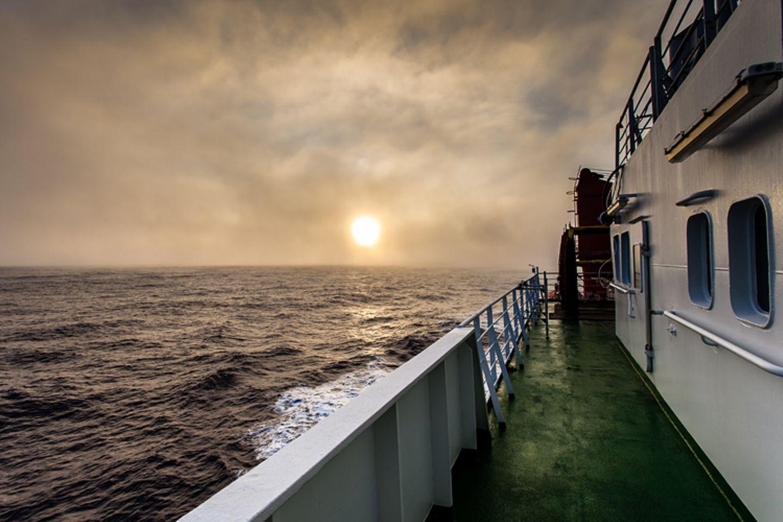 """Fotostrecke: Auf dem Forschungsschiff """"Polarstern"""" - Bild 2"""