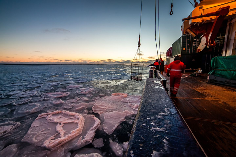 """Fotostrecke: Auf dem Forschungsschiff """"Polarstern"""" - Bild 4"""