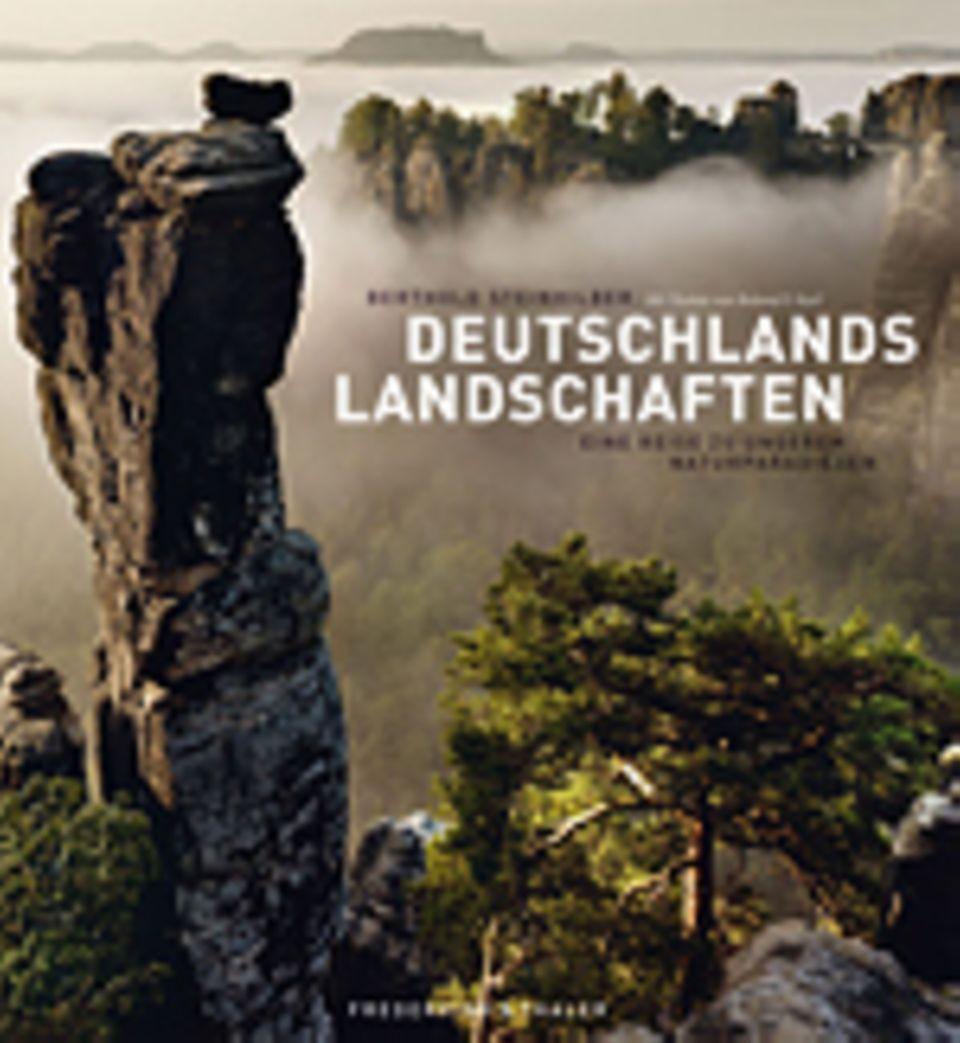 Fotografie: Berthold Steinhilber, Roland F. Karl Deutschlands Landschaften Eine Reise zu unseren Naturparadiesen Frederking & Thaler Verlag 2014 240 Seiten, 200 Abb., 49,99 Euro