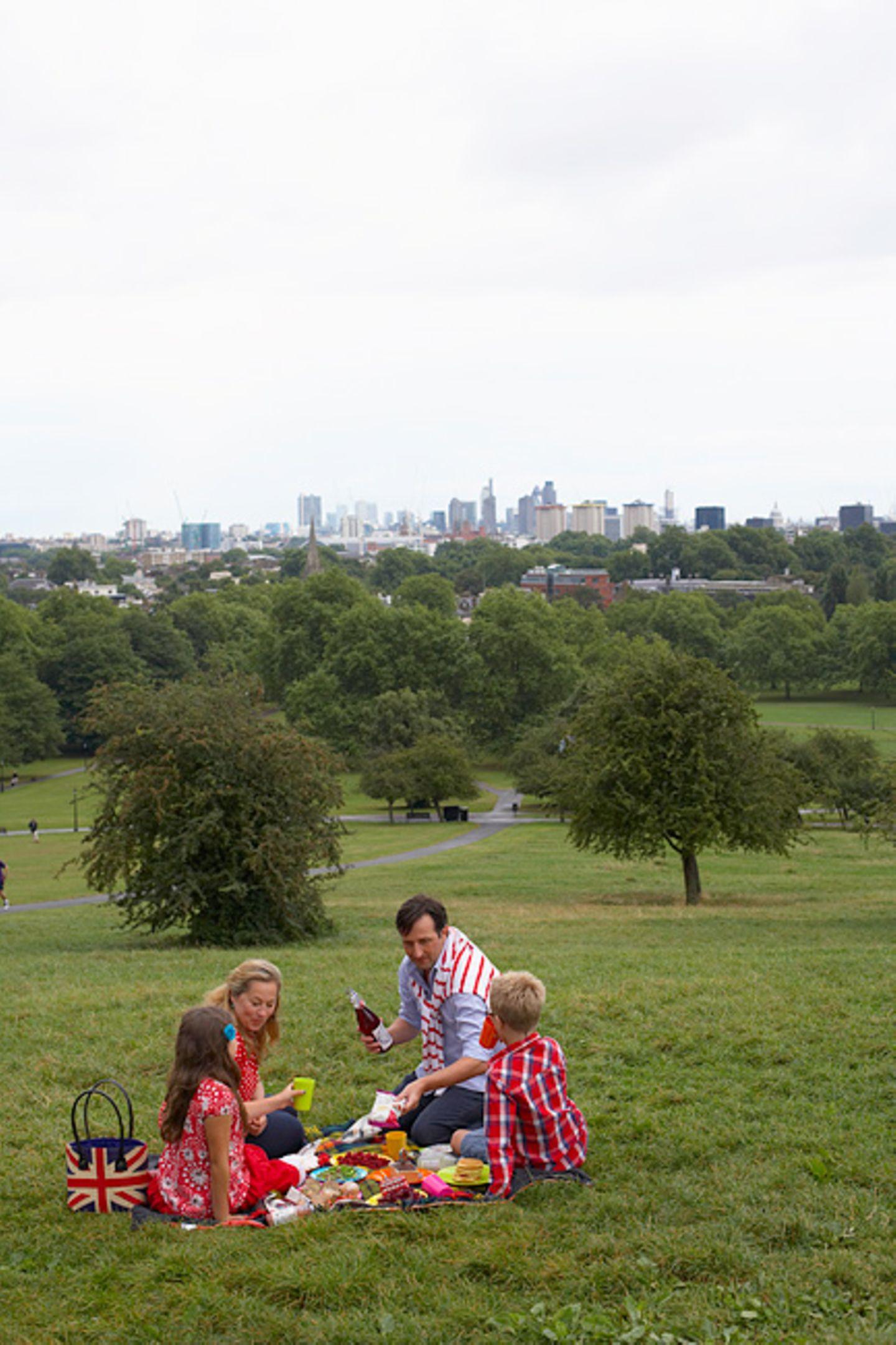 Im Grünen picknicken