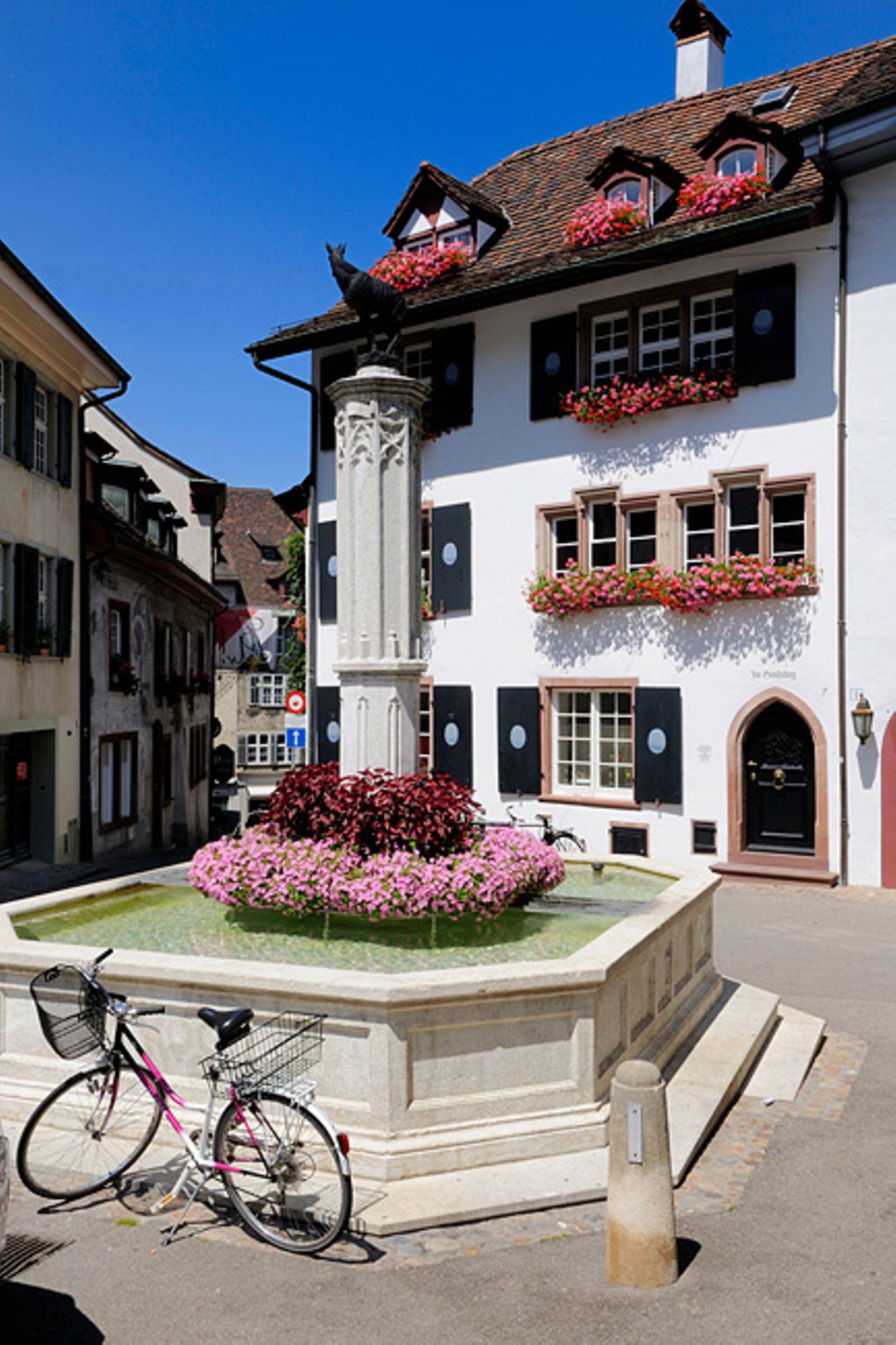 Fahrradfreundliches Basel