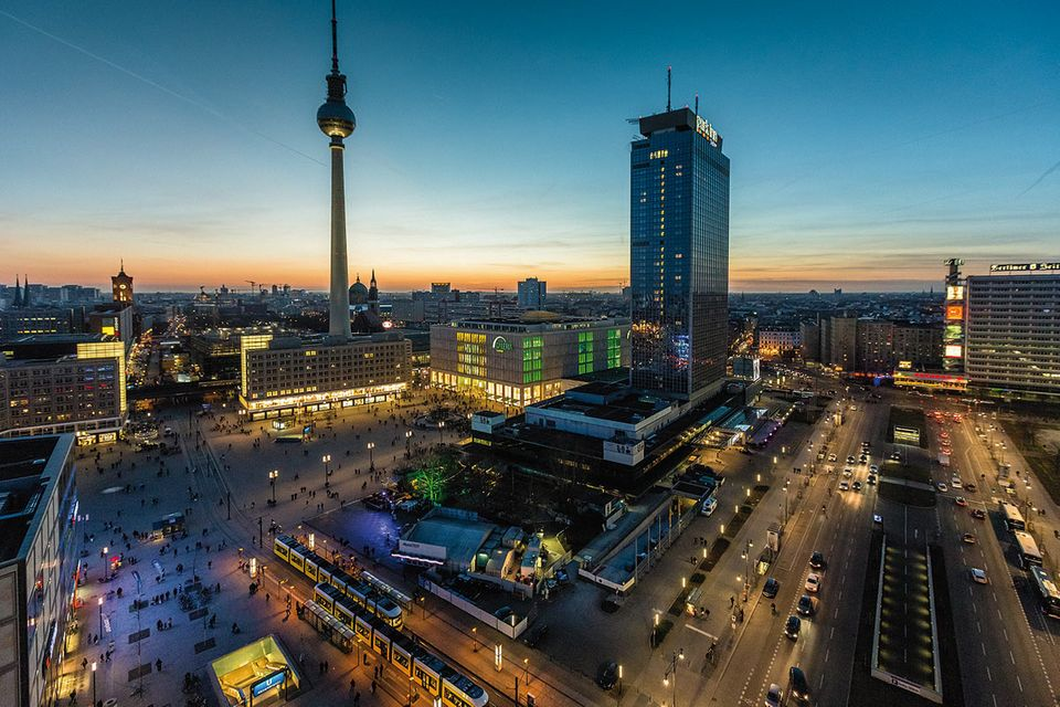 Fotogalerie: Der Himmel über Berlin