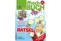 Rätseln: Das GEOlino-Machbuch: Rätsel