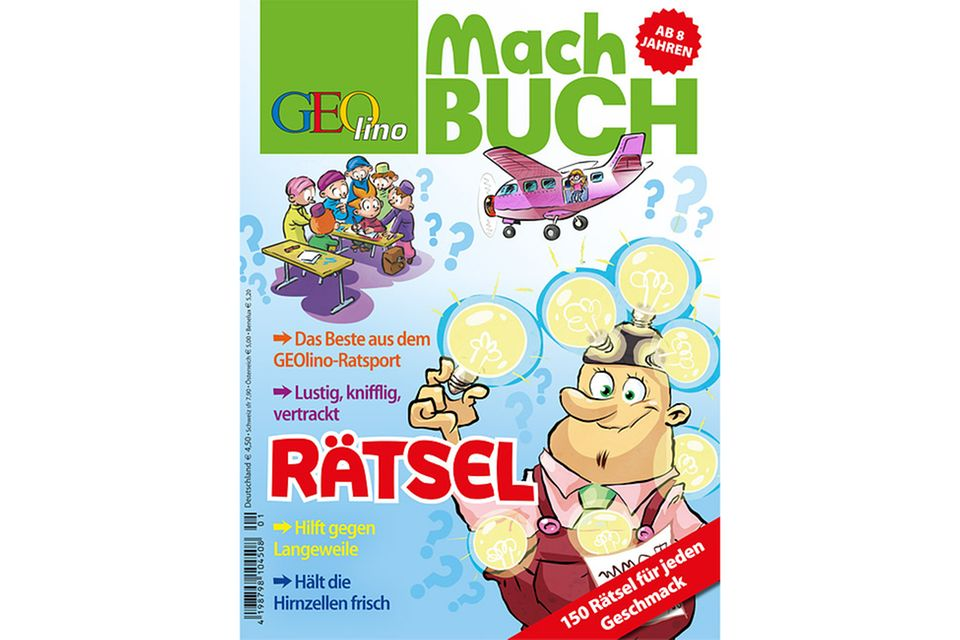 Machbuch: GEOlino Machbuch - Rätsel