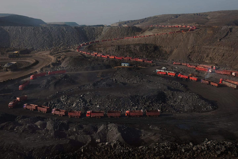 Kohle-Tagebau