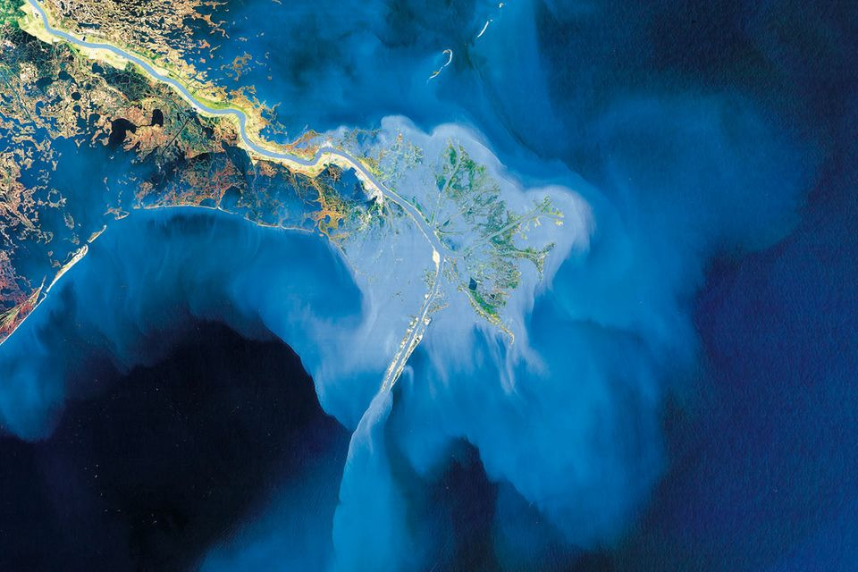 Satellitenfotos: Erd-Kunst