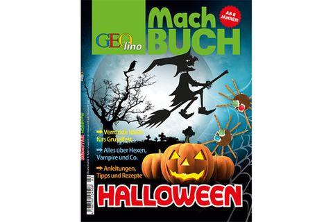 Machbuch: GEOlino Machbuch - Halloween